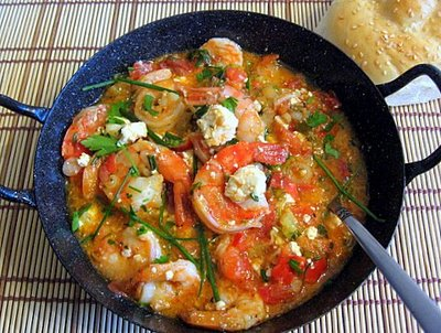 In Search of Shrimp Tourkolimanos -