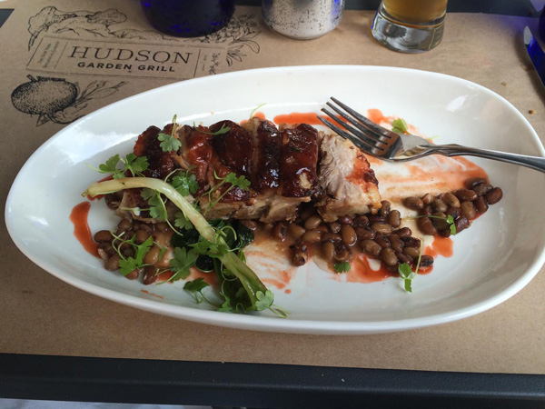 Anson Mills Red Island Peas and Pork Belly