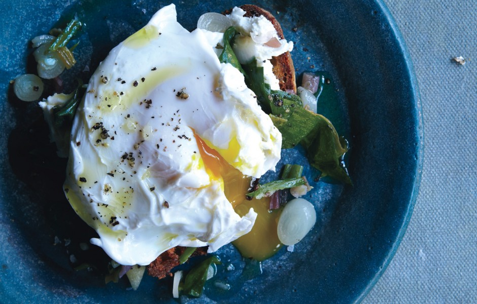 bon appetit poached eggs