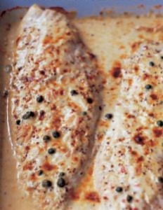 Ina Garten Mustard-Roasted Fish