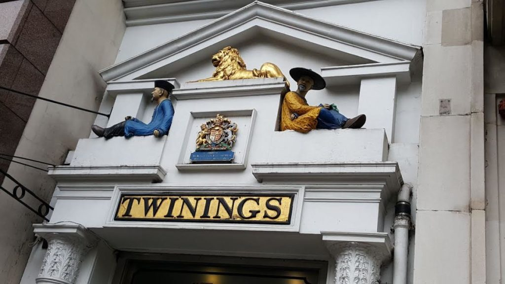 Entrance to Twinings Tea