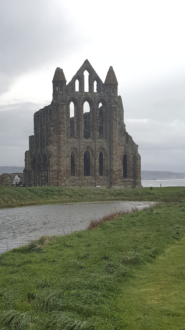 Whitby Abbey in Yorkshire